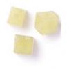 Semi-Precious 4X4mm Cube Butter Jade